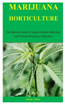 Marijuana Horticulture Book PDF