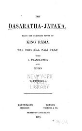 The Dasaratha-Jataka: being the Buddhist story of King Rama