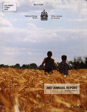 2006 Annual Report To Parliament