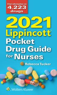 2021 Lippincott Pocket Drug Guide for Nurses Book