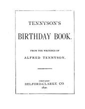 Tennyson's Birthday Book