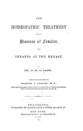 The HomŒopathic treatment of the diseases of females and infants at the breast