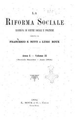 La riforma sociale rassegna di scienze sociali e politiche PDF