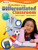 Activities for the Differentiated Classroom  Grade One PDF