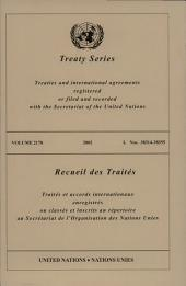 Treaty Series 2178 /2002