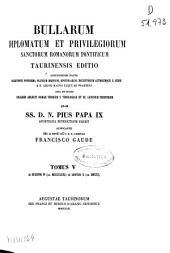 Bullarum Diplomatum et Privilegiorum Sanctorum Romanorum Pontificum: Ab Eugenio IV (an. MCCCCXXXI) ad Leonem X (an. MDXXI). V, Volume 5