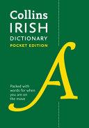 Collins Irish Dictionary Pocket Edition