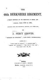 The 66th Berkshire Regiment