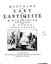 Histoire de l'art de l'antiquité: Volume2