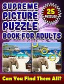 Supreme Picture Puzzle Books for Adults