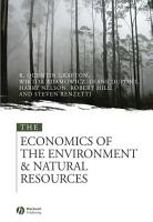 The Economics of the Environment and Natural Resources PDF