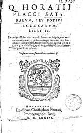 Satyrarum, seu potius eclogarum, libri II.