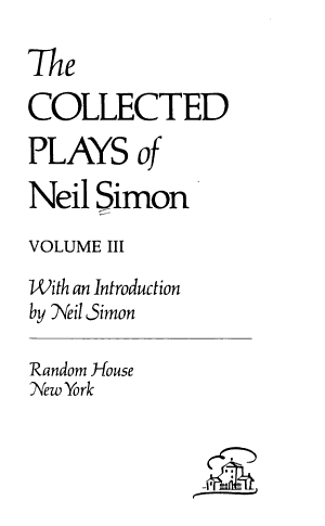 The Collected Plays of Neil Simon PDF