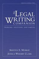 The Legal Writing Companion PDF