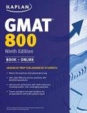 Kaplan GMAT 800 PDF
