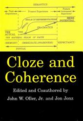 Cloze and Coherence