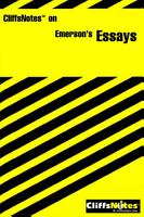 CliffsNotes on Emerson s Essays PDF