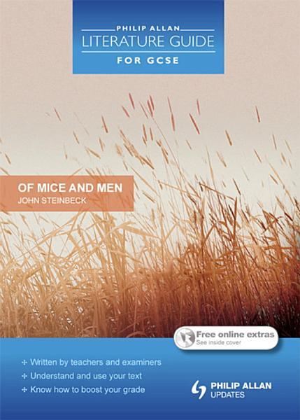 Download Philip Allan Literature Guide for GCSE  Of Mice and Men Book