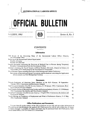 Official Bulletin PDF