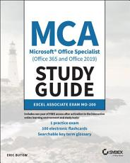 MCA Microsoft Office Specialist  Office 365 and Office 2019  Study Guide PDF