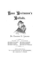 Hans Breitmann's Ballads: Volume 2