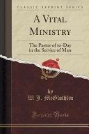 A Vital Ministry
