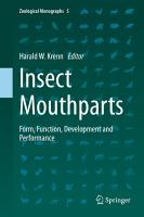 Insect Mouthparts PDF