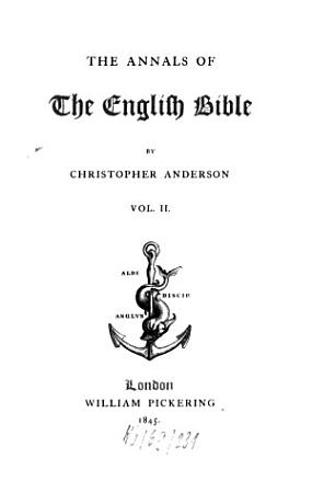The Annals of the English Bible PDF