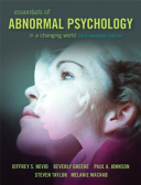 Essentials of Abnormal Psychology in a Changing World Book