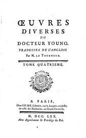 Les Nuits D'Young: Traduites De L'Anglois, Volume4