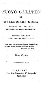 Nuovo Galateo: Volume 1
