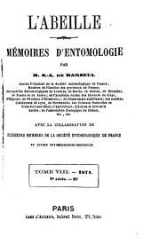 L'Abeille: journal d'entomologie, Volume8