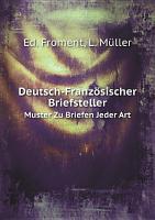 Deutsch Franz sischer Briefsteller PDF