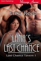 Lana's Last Chance [Last Chance Tavern 1]