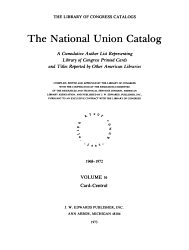 The National Union Catalogs 1963  Book PDF