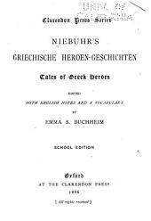 Niebuhr's Griechische heroen-geschichten: Tales of Greek heroes