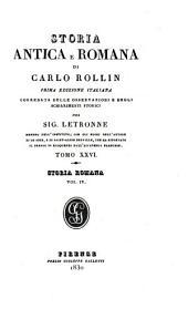 Storia antica e romana di Carlo Rollin: Volume 26