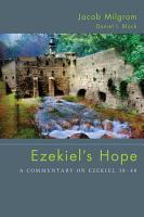 Ezekiel s Hope PDF
