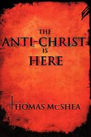 The Anti Christ Is Here PDF