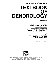 Harlow and Harrar s Textbook of Dendrology
