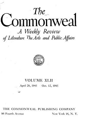 Commonweal PDF