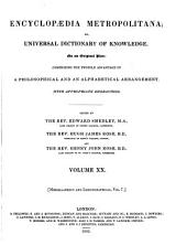 Encyclopaedia Metropolitana, Or, Universal Dictionary of Knowledge: Comprising the Twofold Advantage of a Philosophical and an Alphabetical Arrangement, with Appropriate Engravings, Volume 20