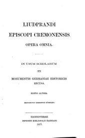 Liudprandi episcopi cremonensis opera omnia: Issues 38-45