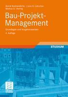 Bau Projekt Management PDF
