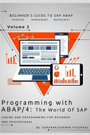 Programming with ABAP/4 - the World of SAP