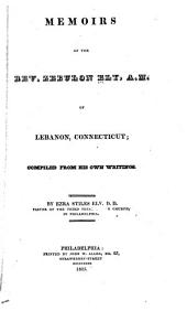 Memoirs of the Rev. Zebulon Ely, A.M., of Lebanon, Connecticut