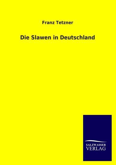 Die Slawen in Deutschland PDF