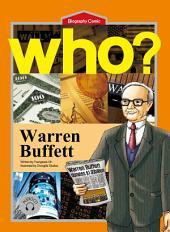 세계 위인전 Who? 16권 Warren Buffett