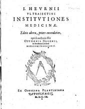Institutiones medicinae