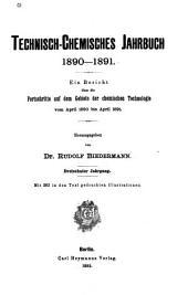 Technisch-chemisches jahrbuch: Band 13